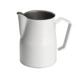 Milchkännchen Motta 2450 aus Edelstahl, weiß lackiert