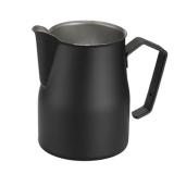 Milchkännchen Motta 2550 aus Edelstahl, schwarz lackiert