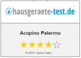 Acopino Palermo Siebträger Espressomaschinen, schwarz