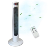 "Acopino Turmventilator ""Windlife"" vT25 (55 Watt), 80 Grad oszilierend, mit Fernbedienung"