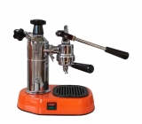 La Pavoni Europiccola EAR Handhebel Espressomaschine in Orange
