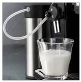 Kaffeevollautomat und Espressomaschine Acopino Ravenna, silber